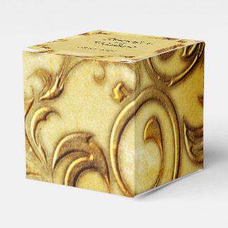 Midas-Touch-GoldGastgeschenk Hochzeits-Kasten Geschenkschachtel
