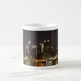Midtown Manhattan, wie von Weehawken NJ gesehen Tasse
