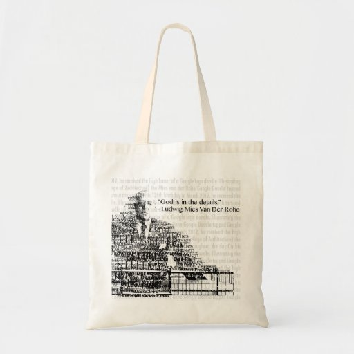 Mies Van Der Rohe Bag Tragetasche