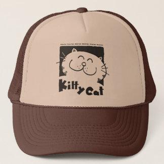 Miezekatze-Katze - intelligente Katze Truckerkappe