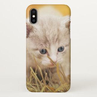 Miezekatze-Katze iphone Fall iPhone X Hülle