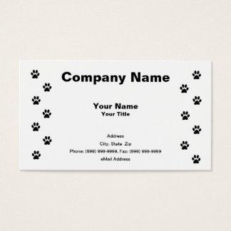 Miezekatze-Katzen-Tatzen-Drucke Visitenkarten