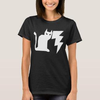 Miezekatze Lectro gotische Blitz-Katze T-Shirt