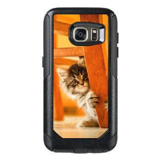 Miezekatze unter Stuhl OtterBox Samsung Galaxy S7 Hülle