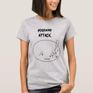 Migräne-Angriffs-Entwurf T-Shirt