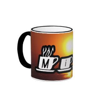 Mike - am Sonnenuntergang Kaffeetasse