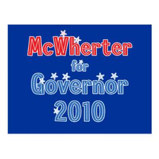 Mike McWherter für Stern-Entwurf des Postkarte