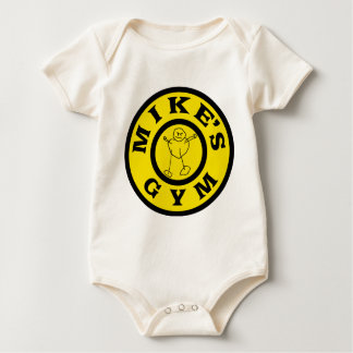 Mike-Turnhalle Baby Strampler