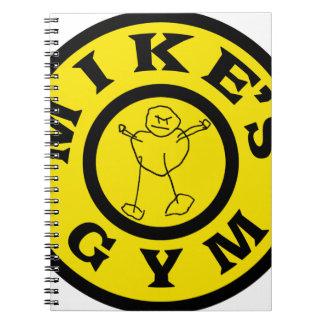 Mike-Turnhalle Notizblock