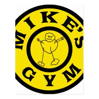Mike-Turnhalle Postkarte