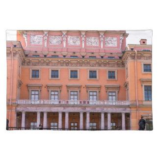 Mikhailovsky Palast Fontanka Fluss Stofftischset
