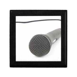 Mikrofon- Gespräch zu mir Schmuckschachtel