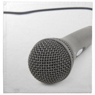 Mikrofon- Gespräch zu mir Serviette
