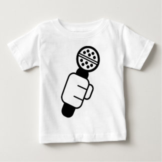Mikrofon-Karo Baby T-shirt