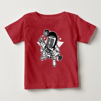 Mikrofon-König Babys T-Shirt
