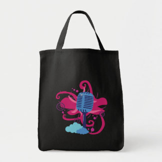Mikrofon-Kunst-Explosions-Taschen-Tasche Tragetasche