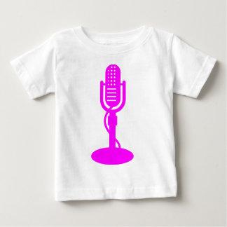 Mikrofon- Magenta Baby T-shirt