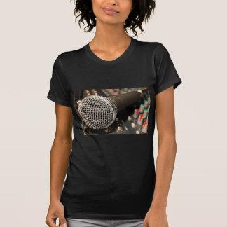 Mikrofon-Mischer-Kabel-Mikrofon-Kabel-Gesang T-Shirt