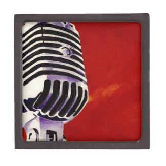 Mikrofon Schachtel