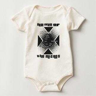 Mikronesien-T-Shirt Baby Strampler