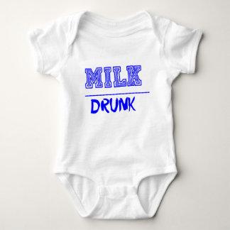 Milch betrunken baby strampler