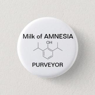 Milch der AMNESIE Runder Button 3,2 Cm