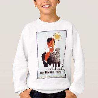 Milch - für Sommerdurst Sweatshirt
