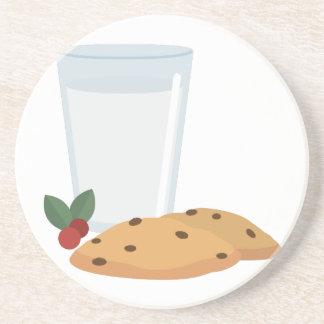Milch u. Plätzchen Sandstein Untersetzer