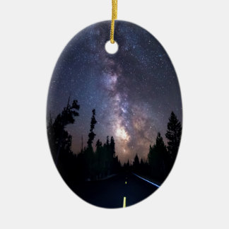 Milchstraße-Antrieb Keramik Ornament