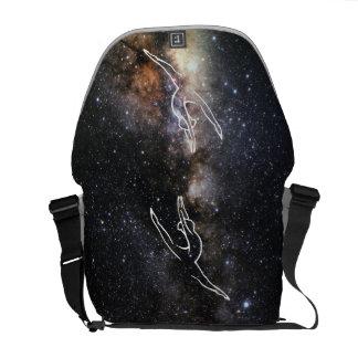 Milchstraße-Bild-Tanz-Tasche Kuriertasche