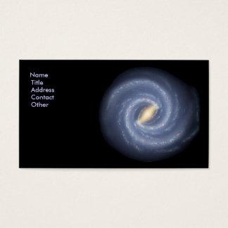 Milchstraße-Galaxie Visitenkarte
