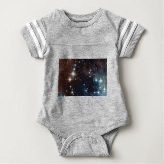 Milchstraßegalaxie Baby Strampler