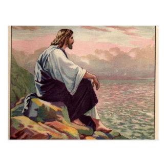 Mildes - und - mildes Jesuss Postkarte
