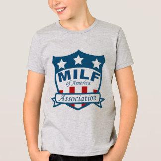 Milf von Amerika-Vereinigung T-Shirt
