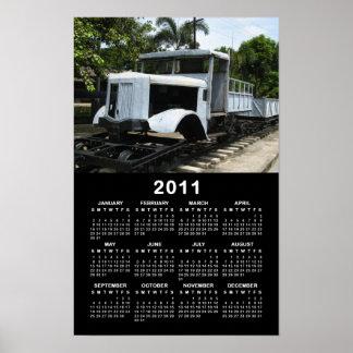 Militär bildet am Fluss Kwai 2011 Kalender aus Poster