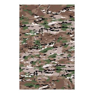 Militär tarnt Gewebe Briefpapier