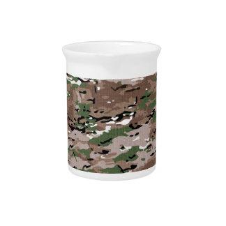 Militär tarnt Gewebe Getränke Pitcher