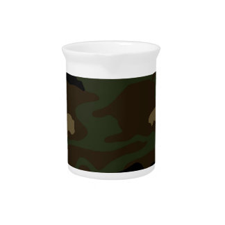 Militär tarnt Muster Getränke Pitcher