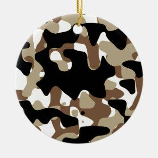 Militär tarnt Muster Keramik Ornament