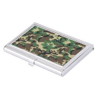Militär tarnt visitenkarten dose
