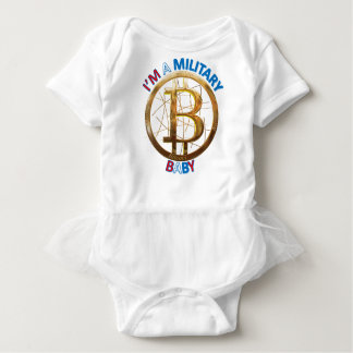 MilitärBitcoin Baby-Kleid Baby Strampler