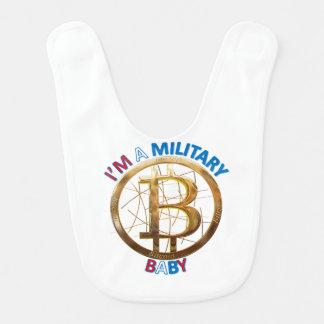 MilitärBitcoin Baby-Kleid Lätzchen