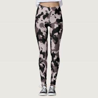 Militärbrown-Camouflage-Tarnung Leggings