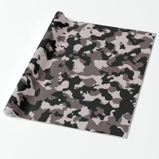 Militärbrown-Tarnungs-Muster Geschenkpapier
