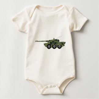 Militärfahrzeug Baby Strampler