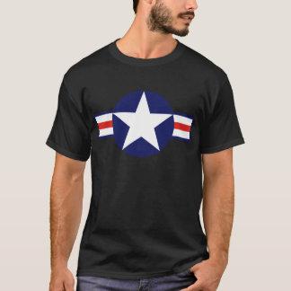 Militärflugzeug-Stern 1947-1999 US T-Shirt