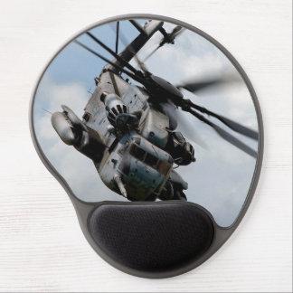 Militärhubschrauber Gel Mousepad