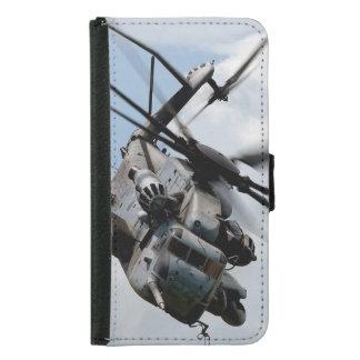 Militärhubschrauber Samsung Galaxy S5 Geldbeutel Hülle