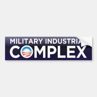 Militärisch-industrieller Autoaufkleber