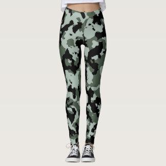 Militärische grüne Tarnung Leggings